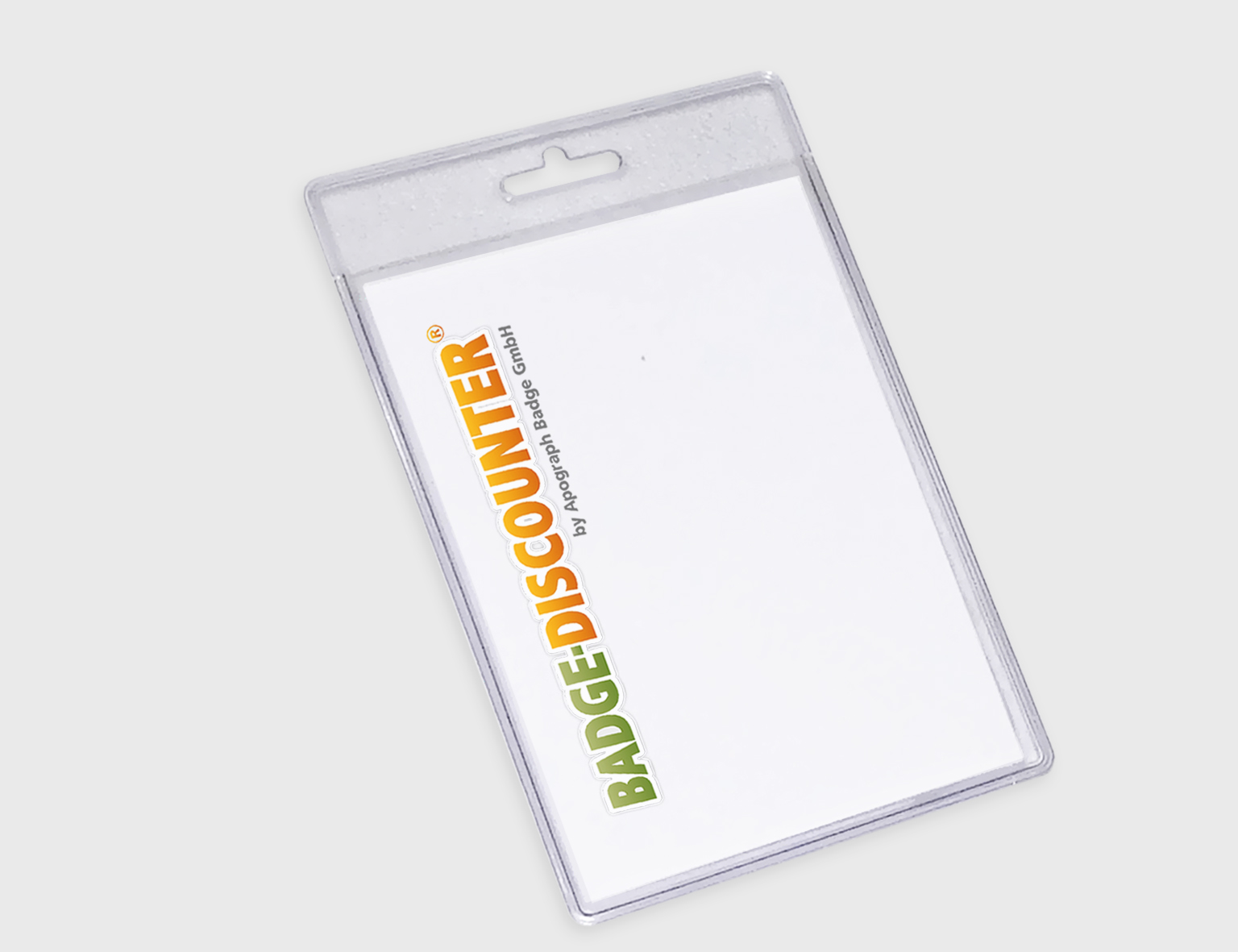 Badge Holder, vertical format, soft, NHSV, ready for use with ...